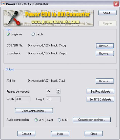 download converter mp3 to karaoke free download power cdg to avi converter 1 0 23 converts