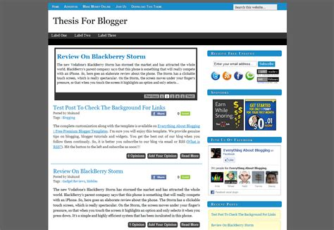 shout me aloud free premium blogger template helper blogger