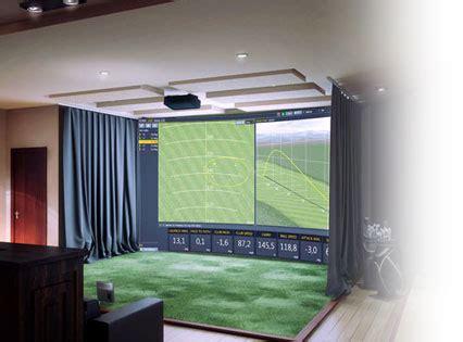 indoor golf simulator hd and full swing indoor golf simulator hd and full swing indoor golf