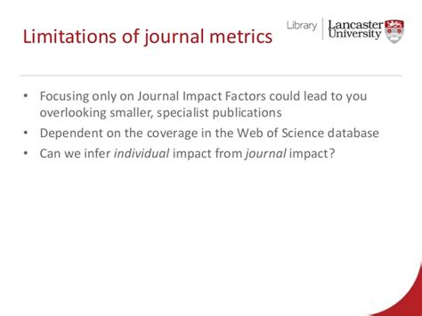 epl impact factor measuring research impact with bibliometrics