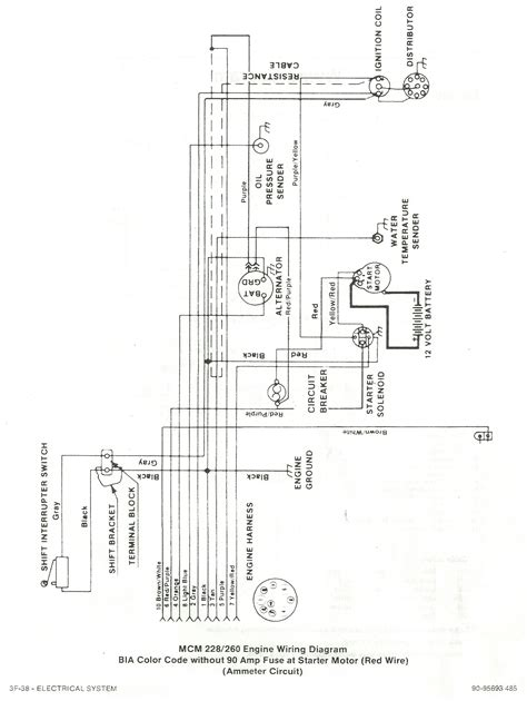 help me understand this wiring diagram mcm 260 content page 1 iboats boating forums 9900635