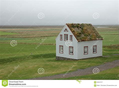 grass roof house design traditional icelandic farm house with grass roof stock photo image 60357977