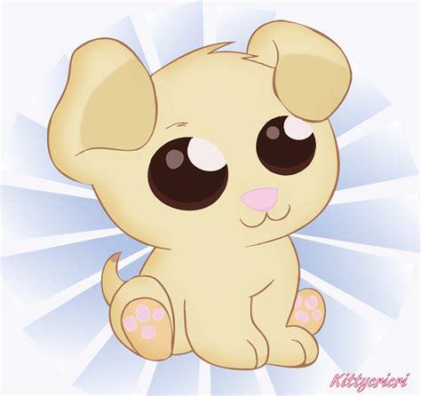 chibi puppy chibi by kittycricri on deviantart