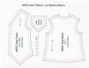 vest template msd vest pattern tutorials antique lilac