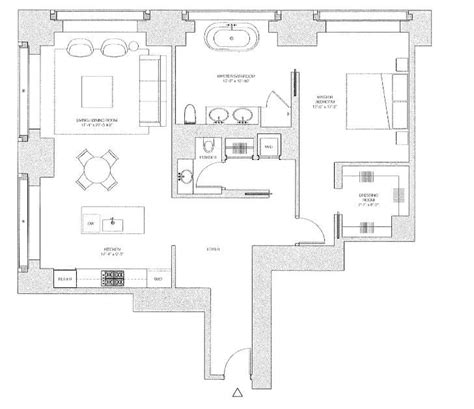 432 park ave floor plans floor plan from 432 park avenue apartment therapy