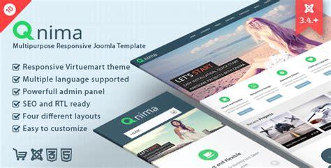 themeforest qnima qnima responsive multipurpose joomla template by