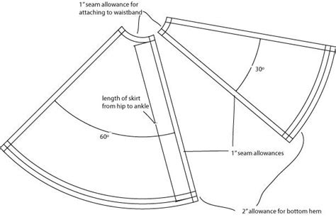 Pattern Panel A Line Top autocad circle skirt 全部 简体中文