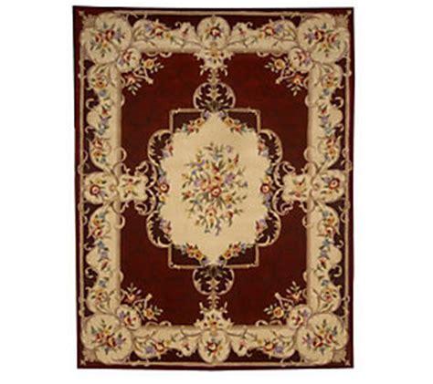 qvc royal palace rugs royal palace heirloom 8x106 wool rug qvc
