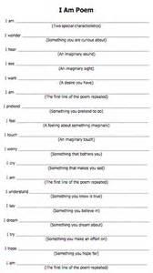 i am poem template best 25 i am poem ideas on self awareness