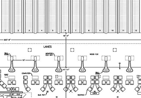 bowling alley floor plan bowling alley building plans bing images