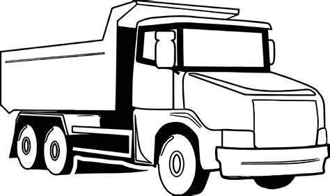 big trucks coloring page big truck coloring pages sketch coloring page