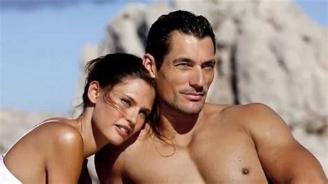 david gandy and bianca balti hot in dolce and gabbana