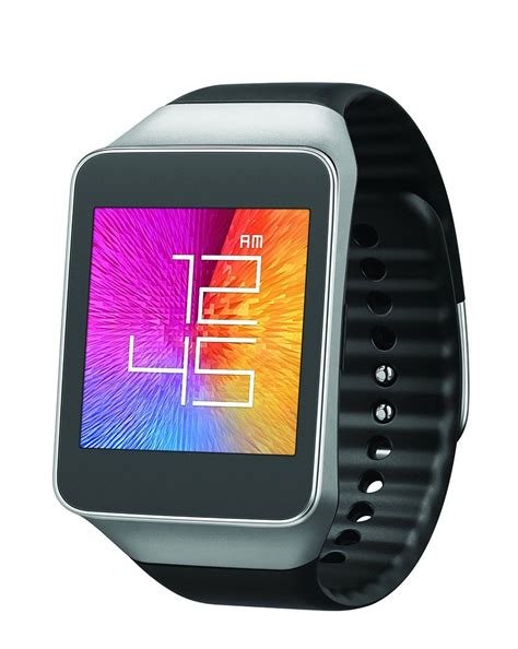 Samsung Galaxy Gear Smart Watch Live Android SM R382 Black Waterproof Bluetooth