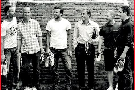 Beckham Immortalized by Manchester United Class Of 92 David Beckham Nicky