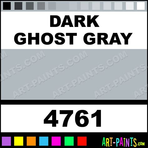 ghost gray artist acrylic paints 4761 ghost gray paint ghost gray color