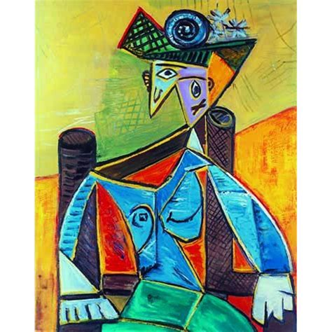 picasso woman in an armchair image gallery seated woman