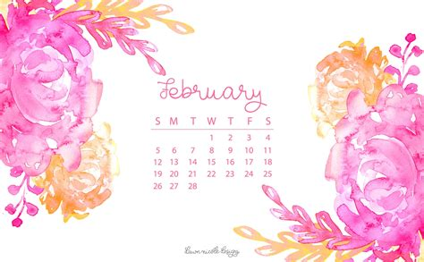 february  calendar tech pretties dawn nicole designs