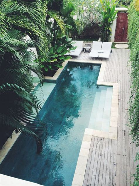 18 gorgeous plunge pools for tiny backyard home design beautiful long pool in tiny backyard