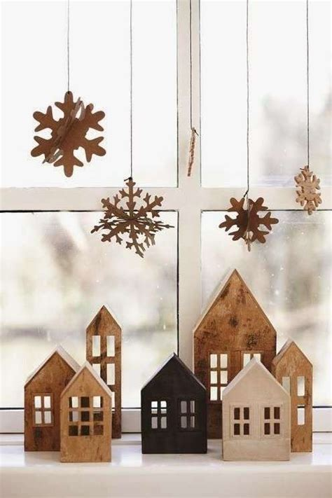 davanzali in legno davanzali natalizi foto design mag