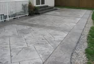 What Is Stamped Concrete Patio Stamped Concrete Patios This Stamped Concrete Patio