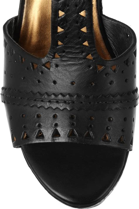 Twelfth St By Cynthia Vincent Wedges by Twelfth Cynthia Vincent Maggie Tooled Leather Wedge
