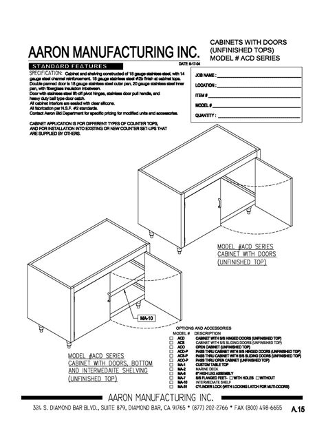 Cabinet Acd cabinet acd
