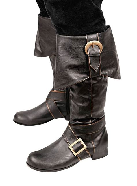 mens pirate boots mens pirate boots with buckles black