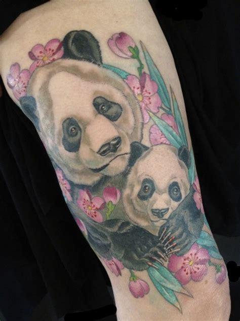 panda tattoo shop tattoo portfolio hubtattoo michael norris