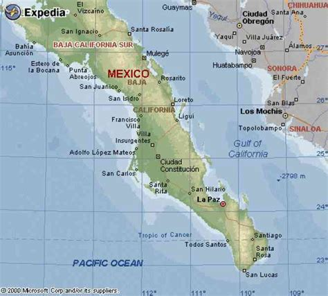 baja map mexico map of california baja holidaymapq