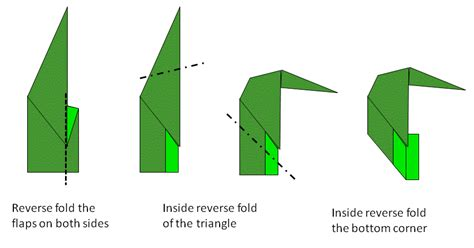 Origami Penguin Folding - money origami penguin paper origami guide