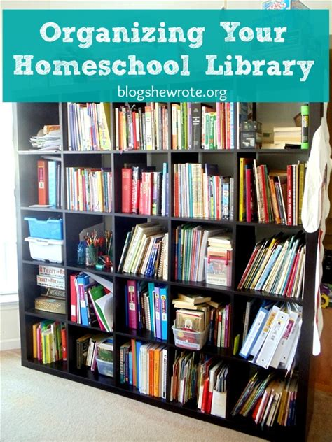 How To Organize A Child S Library | organizing your homeschool library blog she wrote
