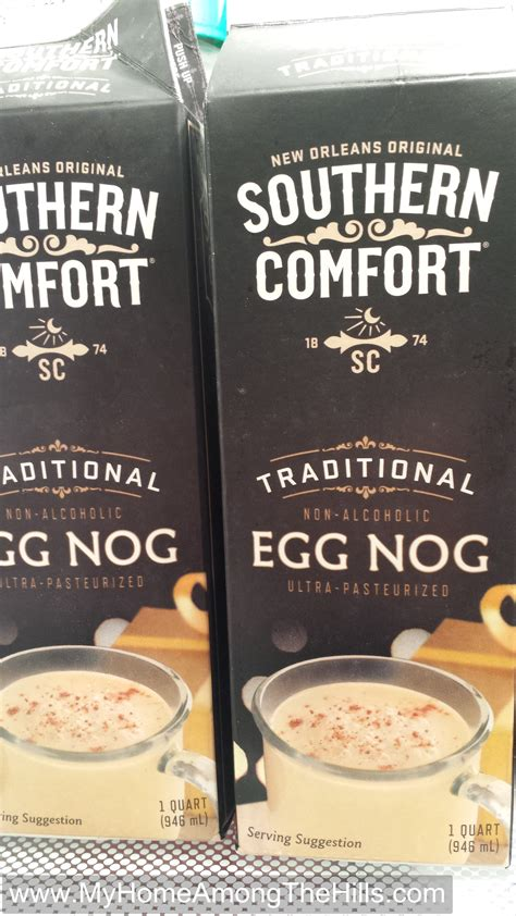 southern comfort with eggnog it s never too soon for eggnog my home among the hills