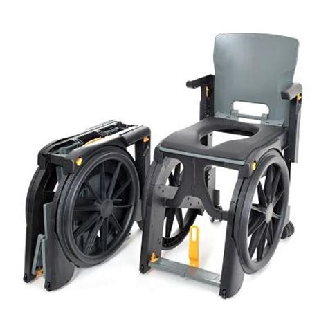 Travel Shower Chair by Wheelable Travel Aid Shower And Commode Chair