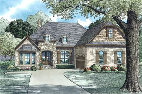 stone house designs and floor plans european style house plan 3 beds 2 baths 2147 sq ft plan