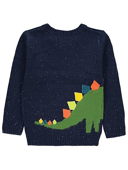 knitting pattern jumper with dinosaur 3d dinosaur knitted jumper kids george