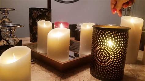 luminara candles luminara candle size comparison demo and guide