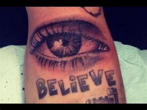 justin bieber eye tattoo justin bieber s new all seeing eye