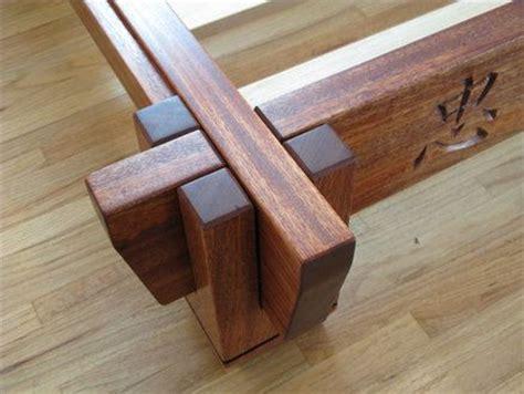 Bed Frame Joints Asian Inspired Platform Bed Frame Architecture And Bldg Design Pi