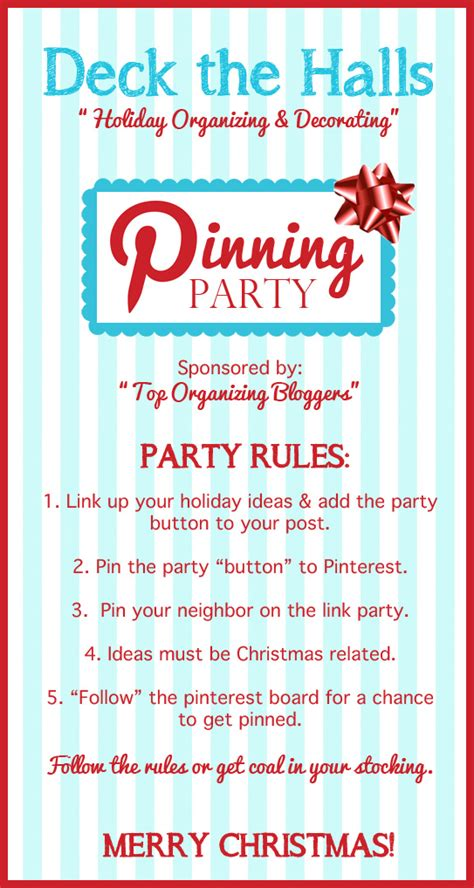 decorating rules deck the halls holiday organizing decorating pinning