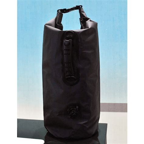 Inflated Outdoor Drifting Waterproof Bag 20 Liter Black 1 inflated outdoor drifting waterproof bag 20