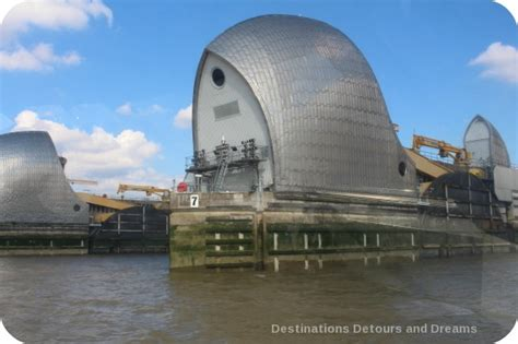 thames barrier frequency use london from the thames destinations detours and dreams