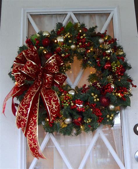 alluring handmade christmas wreath designs