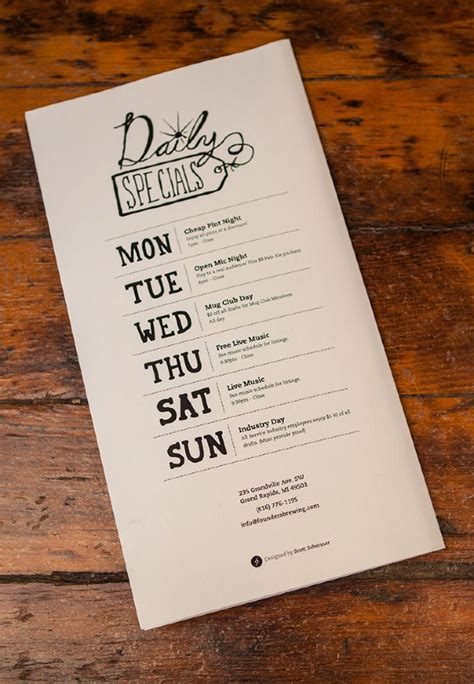 how creative menu card designs impacting the restaurant industry