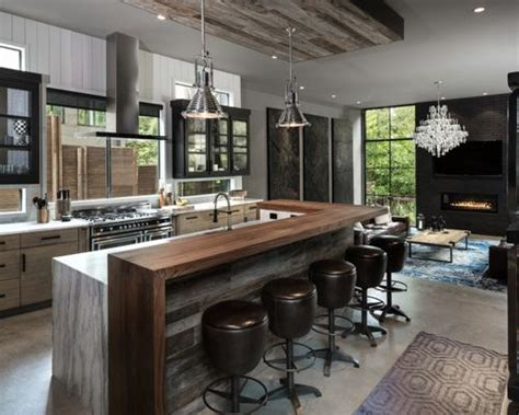 houzz kitchen designs 12 290 industrial kitchen design ideas remodel pictures