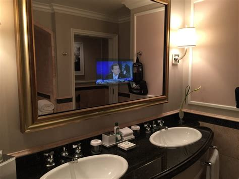 Bathroom Mirror With Tv Built In Built In Tv Mirror In Bathroom Yelp