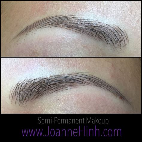 tattoo eyebrows 3d hairstroke eyebrow embroidery by joanne hinh brow