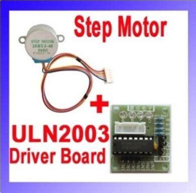 Motor Gearbox By Tokoarduino stepper motor 12v uln2003 driver board jual arduino