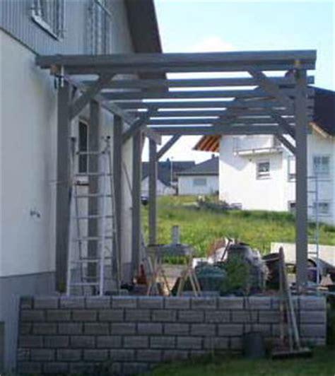 projekte carport selber bauen bilder carport