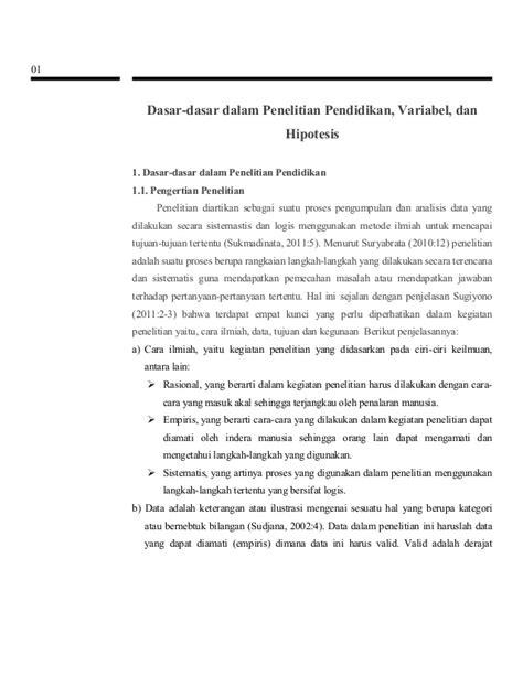 cara membuat rumusan masalah penelitian pdf dasar dasar dalam penelitian pendidikan variabel dan