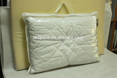Clear Plastic Pillow Covers by China Factory Clear Vinyl Pvc Pe Memory Foam Pillow Bag
